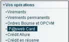 Déposer au poker avec la PayWeb card